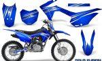 Honda CRF 125F CreatorX Graphic Kit Cold Fusion Blue 150x90 - Honda CRF125F 2014-2018 Graphics