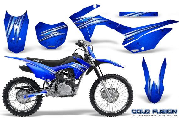 Honda CRF 125F CreatorX Graphic Kit Cold Fusion Blue 570x376 - Honda CRF125F 2014-2018 Graphics