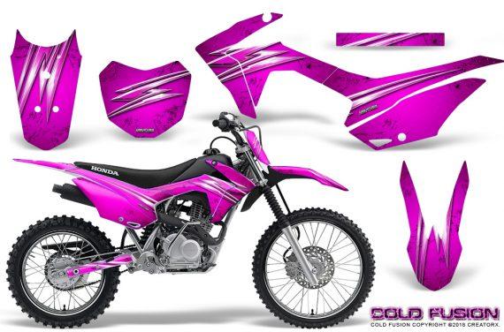 Honda CRF 125F CreatorX Graphic Kit Cold Fusion Pink 570x376 - Honda CRF125F 2014-2018 Graphics