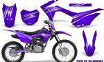 Honda CRF 125F CreatorX Graphic Kit Cold Fusion Purple 150x90 - Honda CRF125F 2014-2018 Graphics