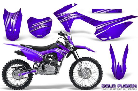 Honda CRF 125F CreatorX Graphic Kit Cold Fusion Purple 570x376 - Honda CRF125F 2014-2018 Graphics