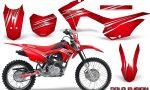 Honda CRF 125F CreatorX Graphic Kit Cold Fusion Red 150x90 - Honda CRF125F 2014-2018 Graphics