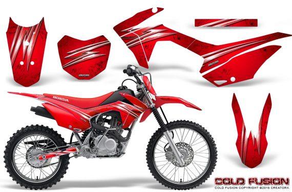Honda CRF 125F CreatorX Graphic Kit Cold Fusion Red 570x376 - Honda CRF125F 2014-2018 Graphics