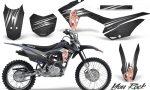 Honda CRF 125F CreatorX Graphic Kit You Rock Black 150x90 - Honda CRF125F 2014-2018 Graphics