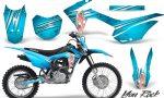 Honda CRF 125F CreatorX Graphic Kit You Rock BlueIce 150x90 - Honda CRF125F 2014-2018 Graphics