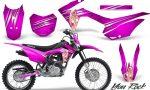 Honda CRF 125F CreatorX Graphic Kit You Rock Pink 150x90 - Honda CRF125F 2014-2018 Graphics