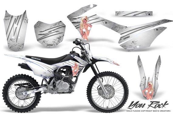 Honda CRF 125F CreatorX Graphic Kit You Rock White 570x376 - Honda CRF125F 2014-2018 Graphics