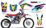 Honda CRF 125F Graphic Kit Flashback 150x90 - Honda CRF125F 2014-2018 Graphics