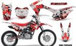 Honda CRF 125F Graphic Kit Meltdown RW 150x90 - Honda CRF125F 2014-2018 Graphics