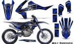 KTM SXF XCF 250 350 450 2016 CreatorX Graphics Kit Bolt Thrower Blue NP Rims 150x90 - KTM C10 SX-F XC-F 250-350-450 SX 125-450 2016+ Graphics