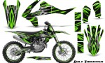 KTM SXF XCF 250 350 450 2016 CreatorX Graphics Kit Bolt Thrower Green NP Rims 150x90 - KTM C10 SX-F XC-F 250-350-450 SX 125-450 2016+ Graphics
