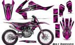 KTM SXF XCF 250 350 450 2016 CreatorX Graphics Kit Bolt Thrower Pink NP Rims 150x90 - KTM C10 SX-F XC-F 250-350-450 SX 125-450 2016+ Graphics