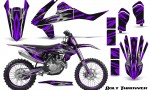 KTM SXF XCF 250 350 450 2016 CreatorX Graphics Kit Bolt Thrower Purple NP Rims 150x90 - KTM C10 SX-F XC-F 250-350-450 SX 125-450 2016+ Graphics