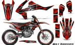KTM SXF XCF 250 350 450 2016 CreatorX Graphics Kit Bolt Thrower Red NP Rims 150x90 - KTM C10 SX-F XC-F 250-350-450 SX 125-450 2016+ Graphics