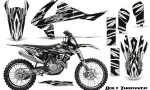 KTM SXF XCF 250 350 450 2016 CreatorX Graphics Kit Bolt Thrower White NP Rims 150x90 - KTM C10 SX-F XC-F 250-350-450 SX 125-450 2016+ Graphics