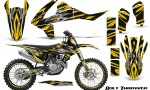 KTM SXF XCF 250 350 450 2016 CreatorX Graphics Kit Bolt Thrower Yellow NP Rims 150x90 - KTM C10 SX-F XC-F 250-350-450 SX 125-450 2016+ Graphics