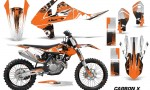 KTM SXF XCF 250 350 450 2016 Graphic Kit Carbon X O NPS 150x90 - KTM C10 SX-F XC-F 250-350-450 SX 125-450 2016+ Graphics
