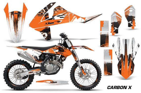 KTM SXF XCF 250 350 450 2016 Graphic Kit Carbon X O NPS 570x376 - KTM C10 SX-F XC-F 250-350-450 SX 125-450 2016+ Graphics