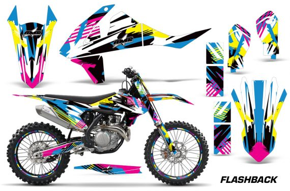 KTM SXF XCF 250 350 450 2016 Graphic Kit Flashback NPs 570x376 - KTM C10 SX-F XC-F 250-350-450 SX 125-450 2016+ Graphics