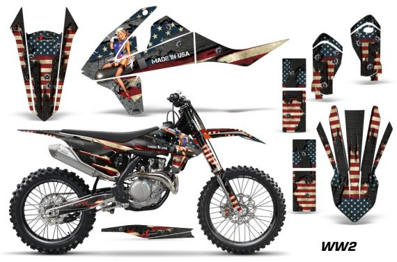 KTM SXF XCF 250 350 450 2016 Graphic Kit WW2 NPs 570x376 - KTM C10 SX-F XC-F 250-350-450 SX 125-450 2016+ Graphics