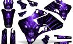 Yamaha YZ 125 250 96 01 Graphics Kit Skull Chief Purple 150x90 - Yamaha YZ125 YZ250 2 Stroke 1996-2001 Graphics