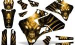 Yamaha YZ 125 250 96 01 Graphics Kit Skull Chief Yellow 150x90 - Yamaha YZ125 YZ250 2 Stroke 1996-2001 Graphics
