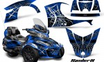 Can Am Spyder RT S 2014 2016 Full Trim SpiderX Blue 1 150x90 - Can-Am Spyder RTS 2014-2019 Graphics with Trim Kit