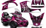 Can Am Spyder RT S 2014 2016 Full Trim SpiderX Pink 1 150x90 - Can-Am Spyder RTS 2014-2019 Graphics with Trim Kit