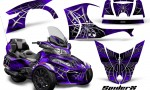 Can Am Spyder RT S 2014 2016 Full Trim SpiderX Purple 150x90 - Can-Am Spyder RTS 2014-2019 Graphics with Trim Kit