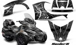 Can Am Spyder RT S 2014 2016 Full Trim SpiderX Silver 150x90 - Can-Am Spyder RTS 2014-2019 Graphics with Trim Kit