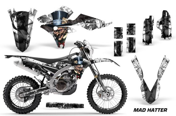 Yamaha WR250 15 17 450F 16 17 Grahic Kit Decal Mad Hatter BW NPs 570x376 - Yamaha WR250F 2015-2017 WR450F 2016-2017 Graphics