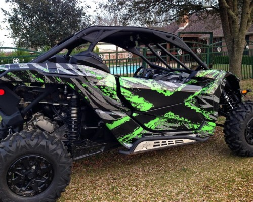 Can-Am Maverick X3 TribalX Custom Version Graphics