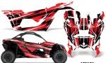 Can Am Maverick X3 Graphics Kit Wrap Attack R 150x90 - Can-Am BRP Maverick X3/X DS/ X RS 2016-2021 Graphics