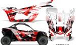 Can Am Maverick X3 Graphics Kit Wrap Carbon X R 150x90 - Can-Am BRP Maverick X3/X DS/ X RS 2016-2021 Graphics
