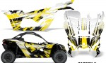 Can Am Maverick X3 Graphics Kit Wrap Carbon X Y 150x90 - Can-Am BRP Maverick X3/X DS/ X RS 2016-2021 Graphics