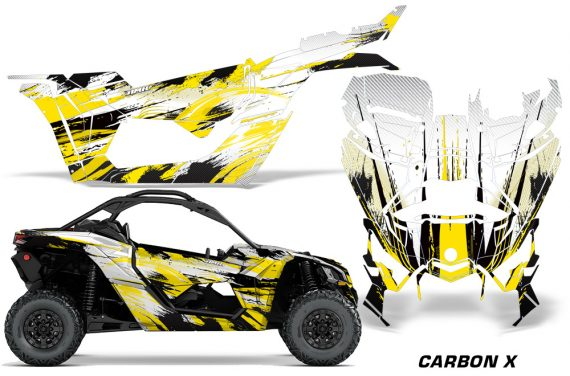 Can-Am-Maverick-X3-Graphics-Kit-Wrap-Carbon-X-Y