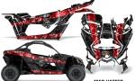 Can Am Maverick X3 Graphics Kit Wrap Mad Hatter RB 150x90 - Can-Am BRP Maverick X3/X DS/ X RS 2016-2021 Graphics
