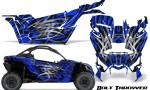 Can am Canam Maverick X3 CreatorX Graphics Kit Bolt Thrower Blue 150x90 - Can-Am BRP Maverick X3/X DS/ X RS 2016-2021 Graphics