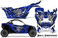 Can-am-Canam-Maverick-X3-CreatorX-Graphics-Kit-Bolt-Thrower-Blue