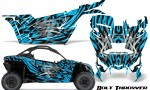 Can am Canam Maverick X3 CreatorX Graphics Kit Bolt Thrower BlueIce 150x90 - Can-Am BRP Maverick X3/X DS/ X RS 2016-2021 Graphics