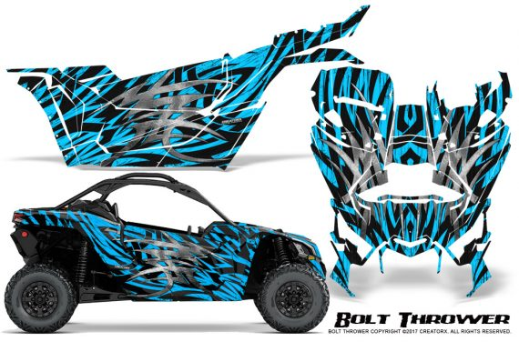 Can-am-Canam-Maverick-X3-CreatorX-Graphics-Kit-Bolt-Thrower-BlueIce
