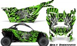 Can am Canam Maverick X3 CreatorX Graphics Kit Bolt Thrower Green 150x90 - Can-Am BRP Maverick X3/X DS/ X RS 2016-2021 Graphics