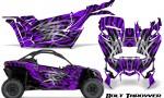 Can am Canam Maverick X3 CreatorX Graphics Kit Bolt Thrower Purple 150x90 - Can-Am BRP Maverick X3/X DS/ X RS 2016-2021 Graphics