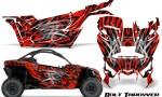 Can am Canam Maverick X3 CreatorX Graphics Kit Bolt Thrower Red 150x90 - Can-Am BRP Maverick X3/X DS/ X RS 2016-2021 Graphics