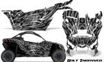 Can am Canam Maverick X3 CreatorX Graphics Kit Bolt Thrower Silver 150x90 - Can-Am BRP Maverick X3/X DS/ X RS 2016-2021 Graphics