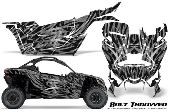 Can-am-Canam-Maverick-X3-CreatorX-Graphics-Kit-Bolt-Thrower-Silver