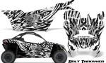 Can am Canam Maverick X3 CreatorX Graphics Kit Bolt Thrower White 150x90 - Can-Am BRP Maverick X3/X DS/ X RS 2016-2021 Graphics