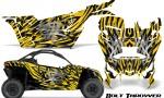 Can am Canam Maverick X3 CreatorX Graphics Kit Bolt Thrower Yellow 150x90 - Can-Am BRP Maverick X3/X DS/ X RS 2016-2021 Graphics