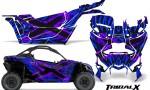 Can am Canam Maverick X3 CreatorX Graphics Kit TribalX Custom Purple Blue With Door Insert Rims 150x90 - Can-Am BRP Maverick X3/X DS/ X RS 2016-2021 Graphics