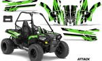 Polaris ACE 150 Graphics Kit Attack G 150x90 - Polaris Sportsman ACE 150 2016-2018 Graphics